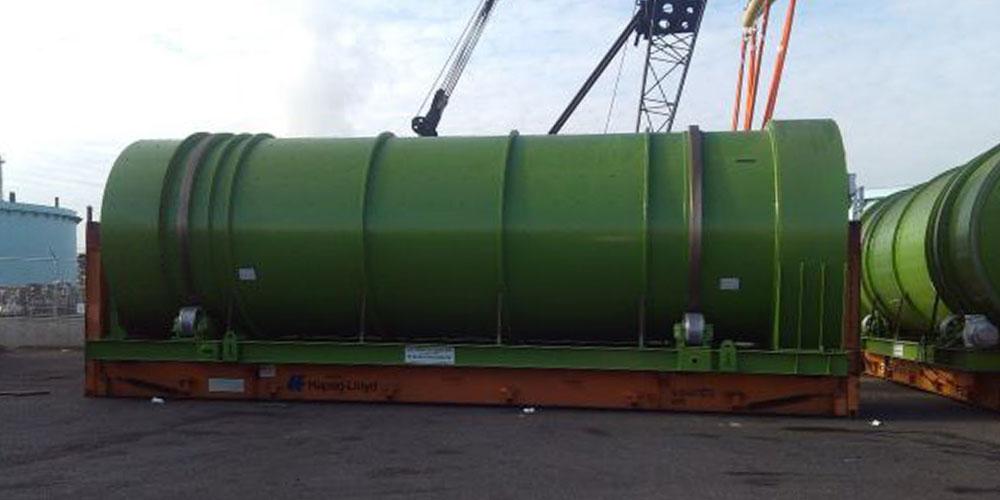 Contrans Logistik Bremen für den Transport von Schwergut.