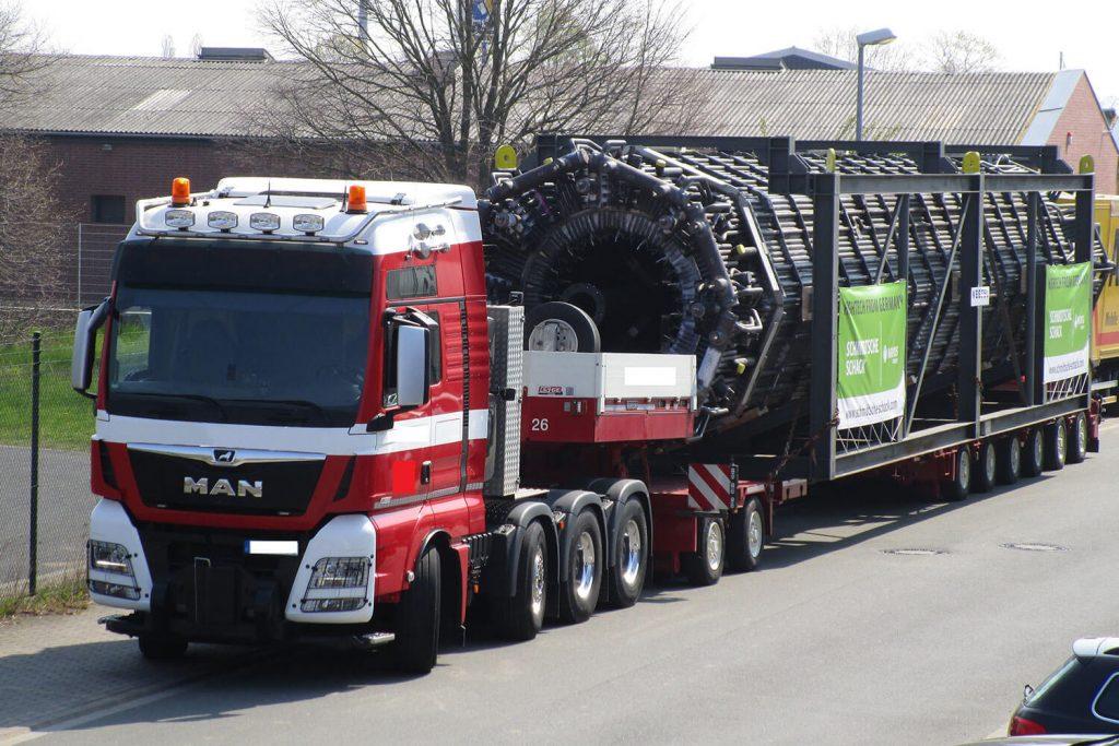 Landfracht Schwertransport Projektspedition