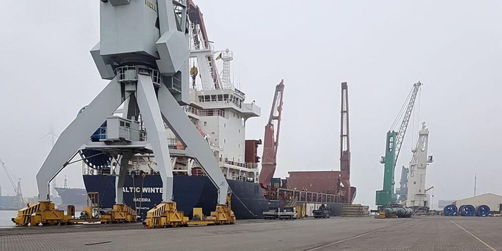 Seefrachtdienste weltweit